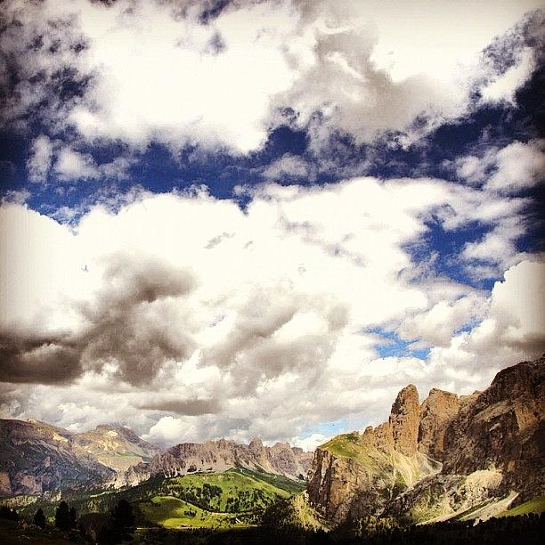 Mountain Photograph - Dolomiti by Luisa Azzolini