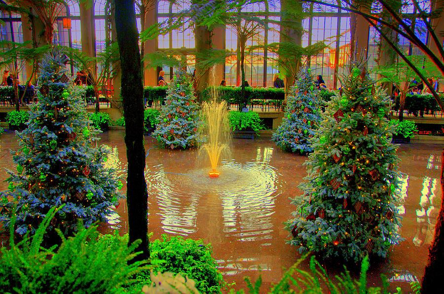 Season Digital Art - Dupont Gardens by Aron Chervin