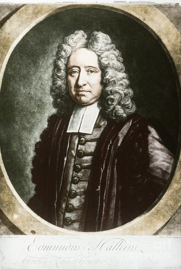 Science Photograph - Edmond Halley, English Polymath by Science Source