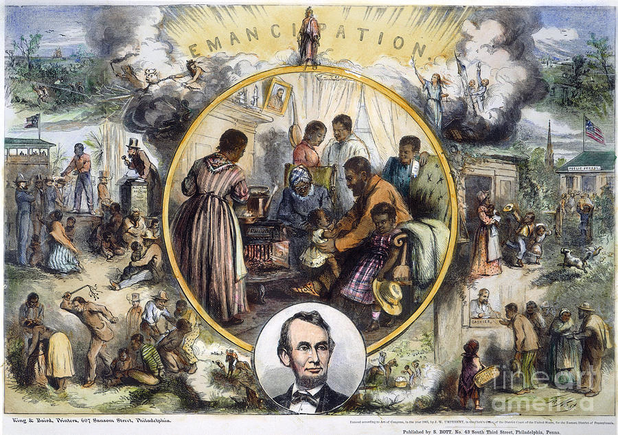 1863 Photograph - Emancipation Proclamation by Granger