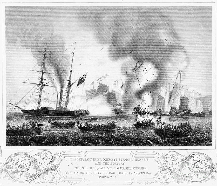 an overview of the first opium war of 1840 The story of china - the first opium war 1838-1842 part of history china duration  teacher review prior to use in class is recommended this clip is from:.