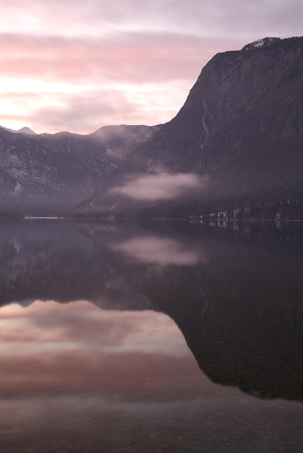 Bohinj Photograph - First Sunset Of The Year by Ian Middleton