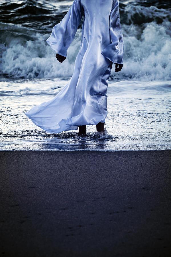 Girl Photograph - Girl At The Sea by Joana Kruse