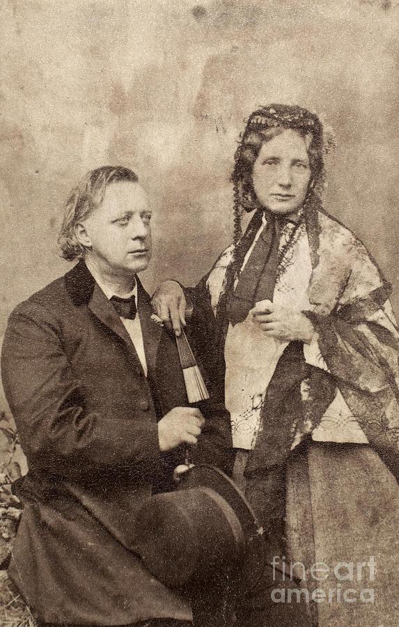 1868 Photograph - Henry Ward Beecher by Granger