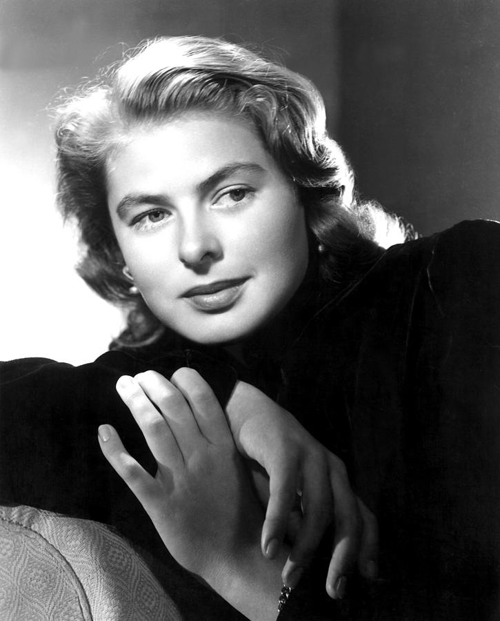Bergman Photograph - Ingrid Bergman, Portrait by Everett