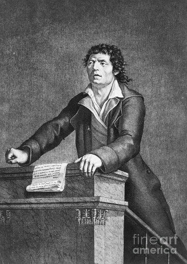 18th Century Photograph - Jean-paul Marat (1743-1793) by Granger