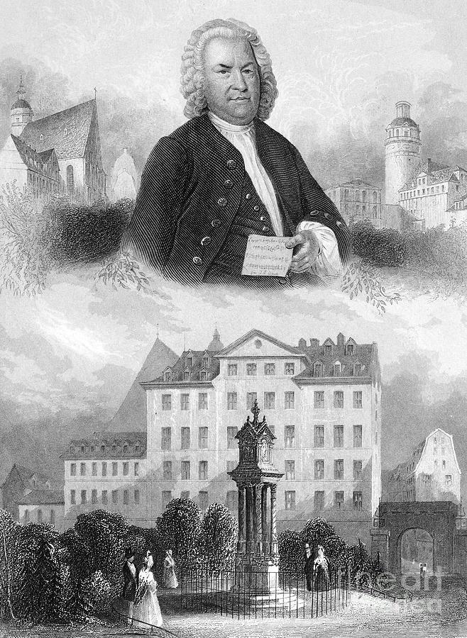 18th Century Photograph - Johann Sebastian Bach by Granger