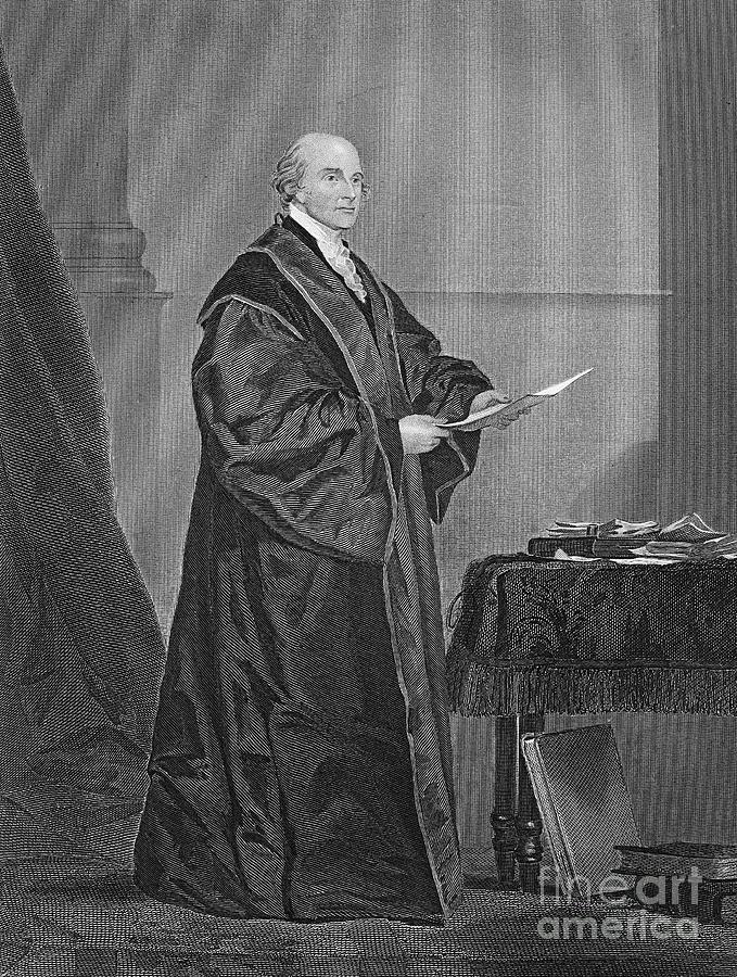 19th Century Photograph - John Jay (1745-1829) by Granger
