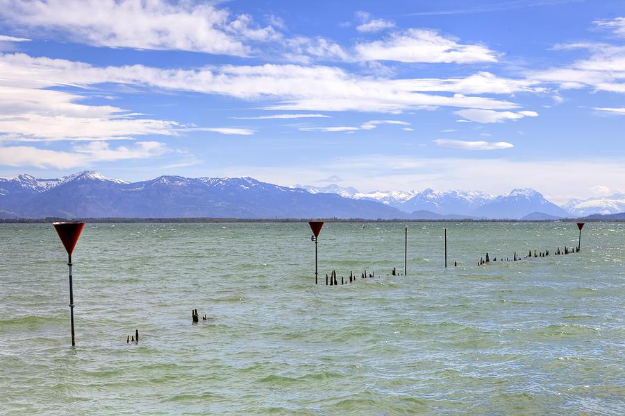 Lindau Photograph - Lake Constance by Joana Kruse