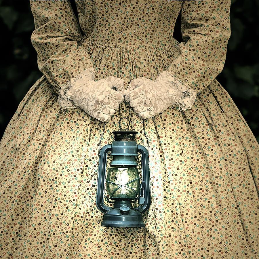 Female Photograph - Lantern by Joana Kruse