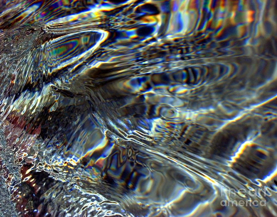 Water Digital Art - Light On Water by Dale   Ford