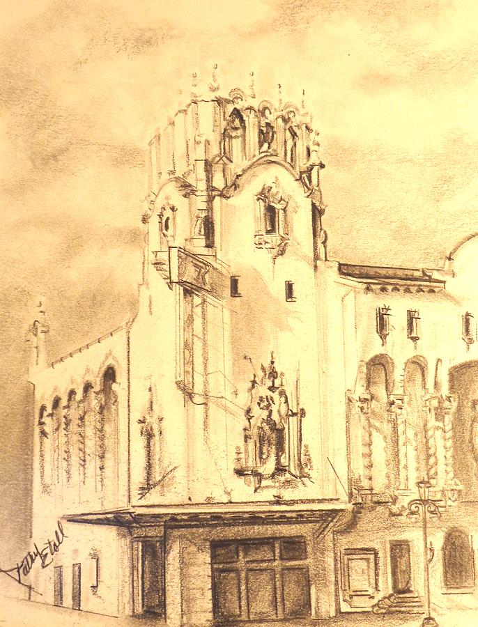 Architectural Drawing - Mayfair by Kathy Etoll-Throckmorton