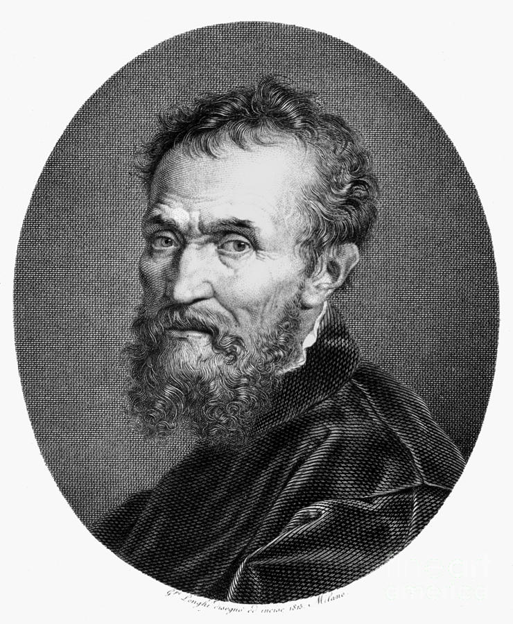 15th Century Photograph - Michelangelo (1475-1564) by Granger