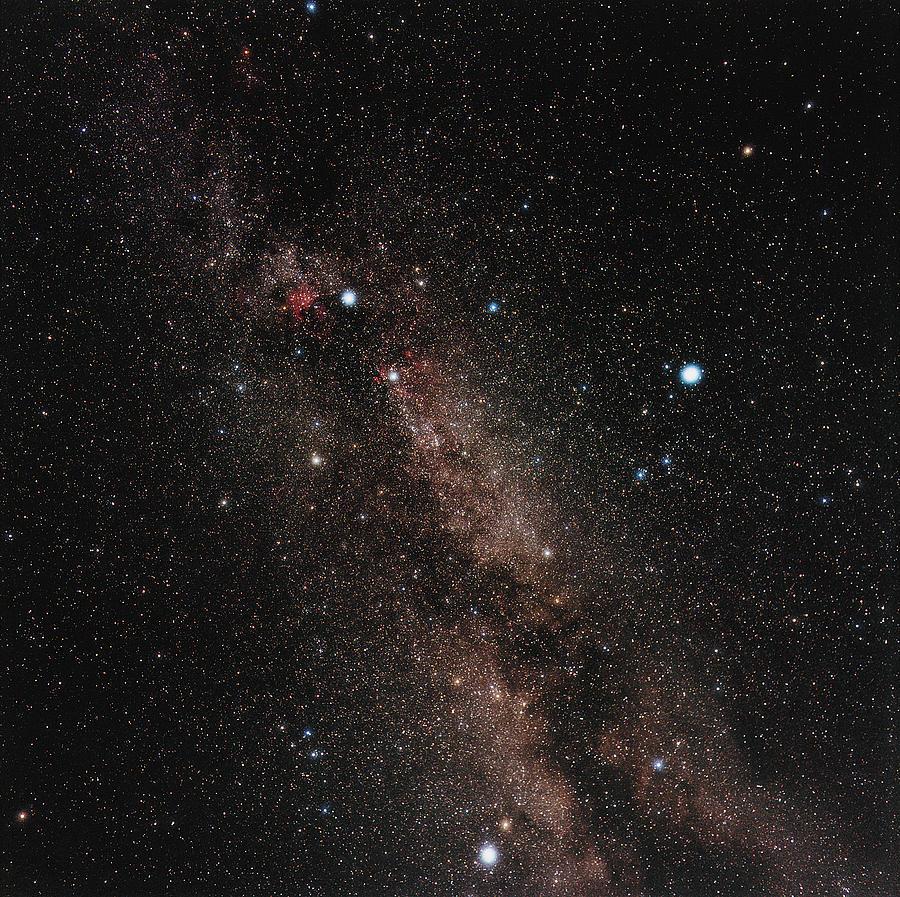 Milky Way Photograph - Milky Way by Eckhard Slawik