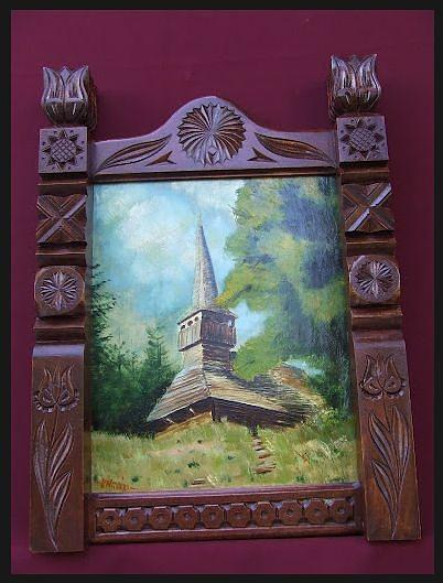 Painting Painting by Ungvari Mihaly