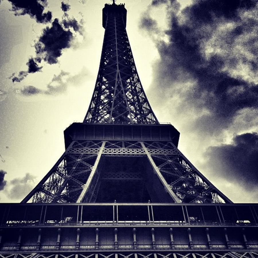 Paris Photograph - #paris by Ritchie Garrod
