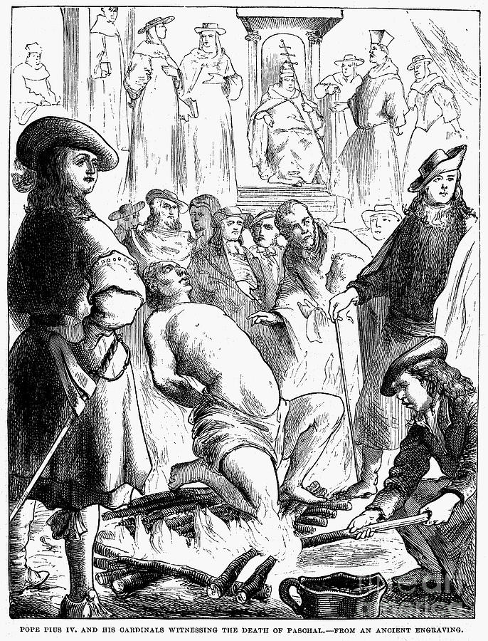 16th Century Photograph - Persecution Of Waldenses by Granger