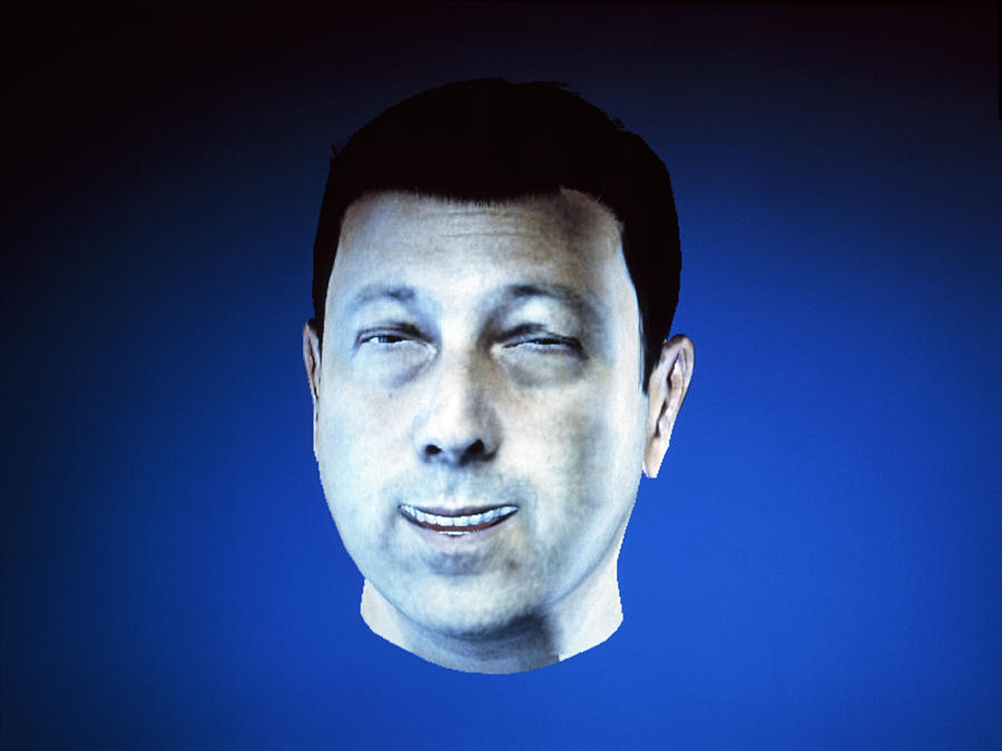 Computer Technology Photograph - Personalised Virtual Avatar by Volker Steger