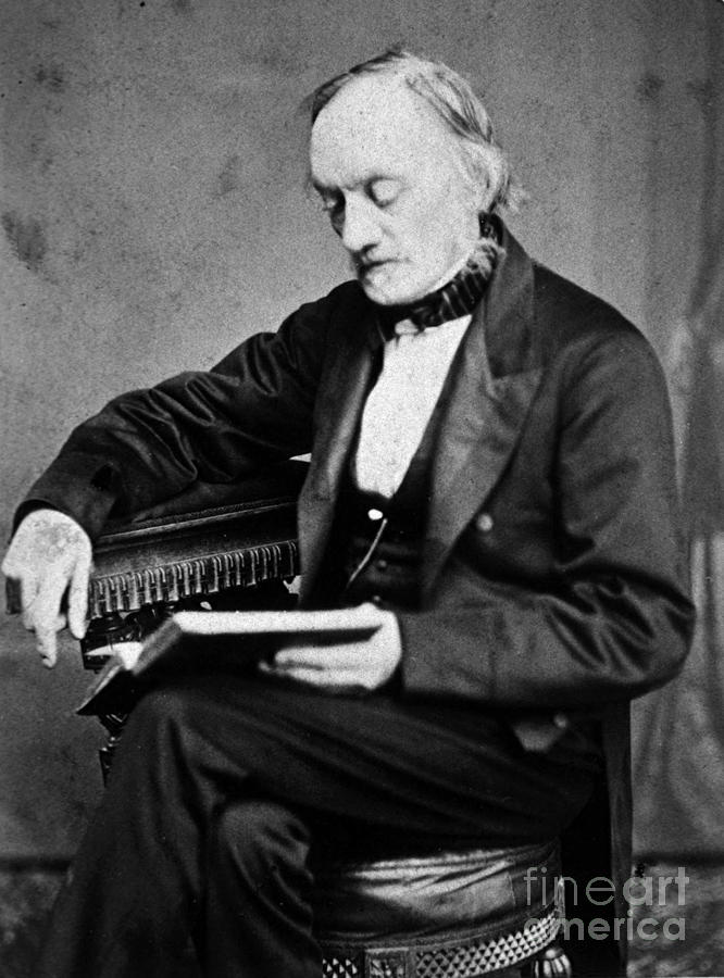 Science Photograph - Richard Owen, English Paleontologist by Science Source