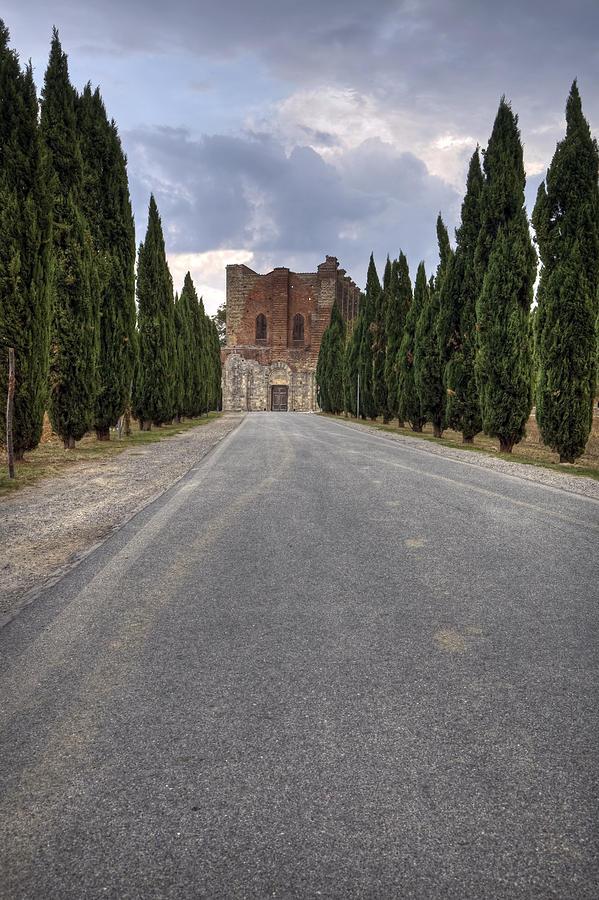 Monastery Photograph - San Galgano by Joana Kruse