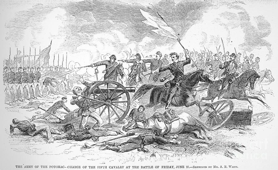 Seven Days Battles, 1862 Photograph by Granger
