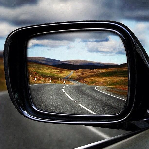 Scenery Photograph - Shetlands Road by Luisa Azzolini
