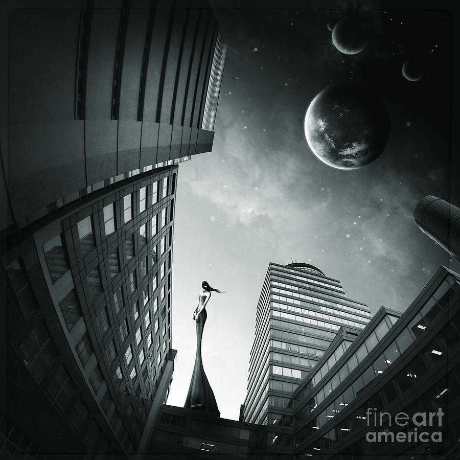 Surreal Digital Art - 4 by Simon Siwak