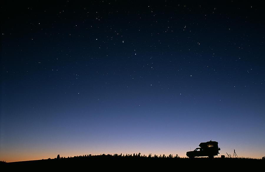 Night Sky Photograph - Starry Sky by David Nunuk