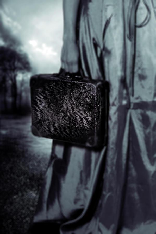 Female Photograph - Suitcase by Joana Kruse
