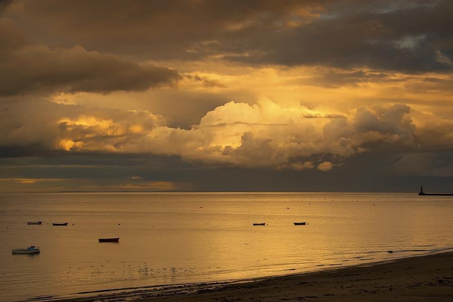 Atmospheric Photograph - Sunderland, Tyne And Wear, England by John Short