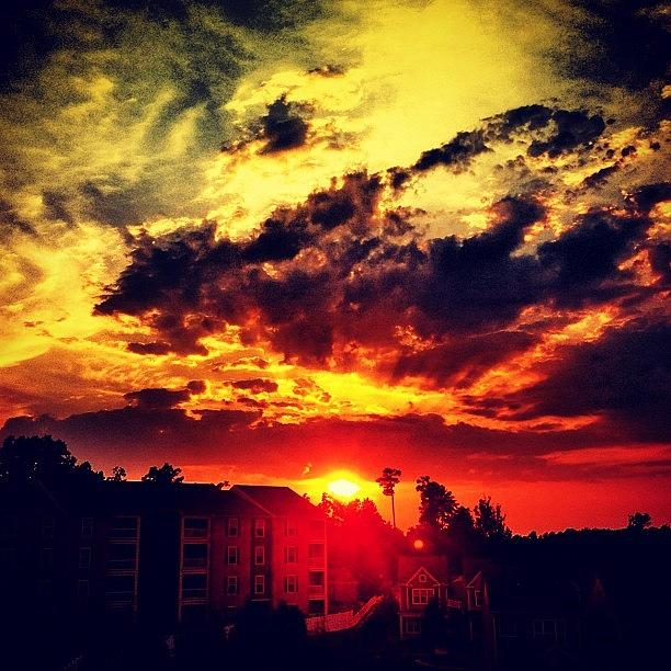Cloud Photograph - Sunset by Katie Williams