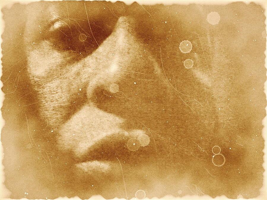 Face Digital Art - Survivor by Beto Machado
