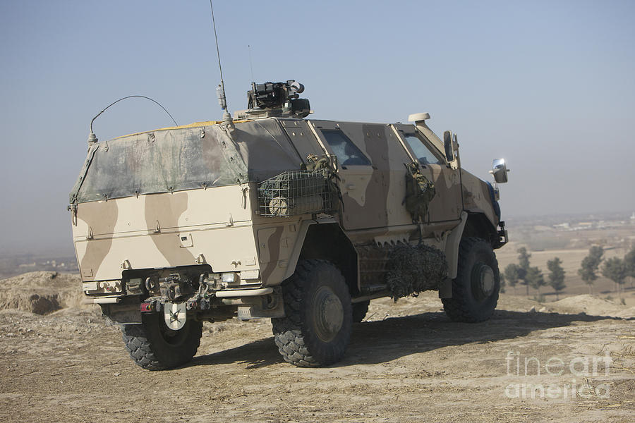 German Army Photograph - The German Army Atf Dingo Armored by Terry Moore