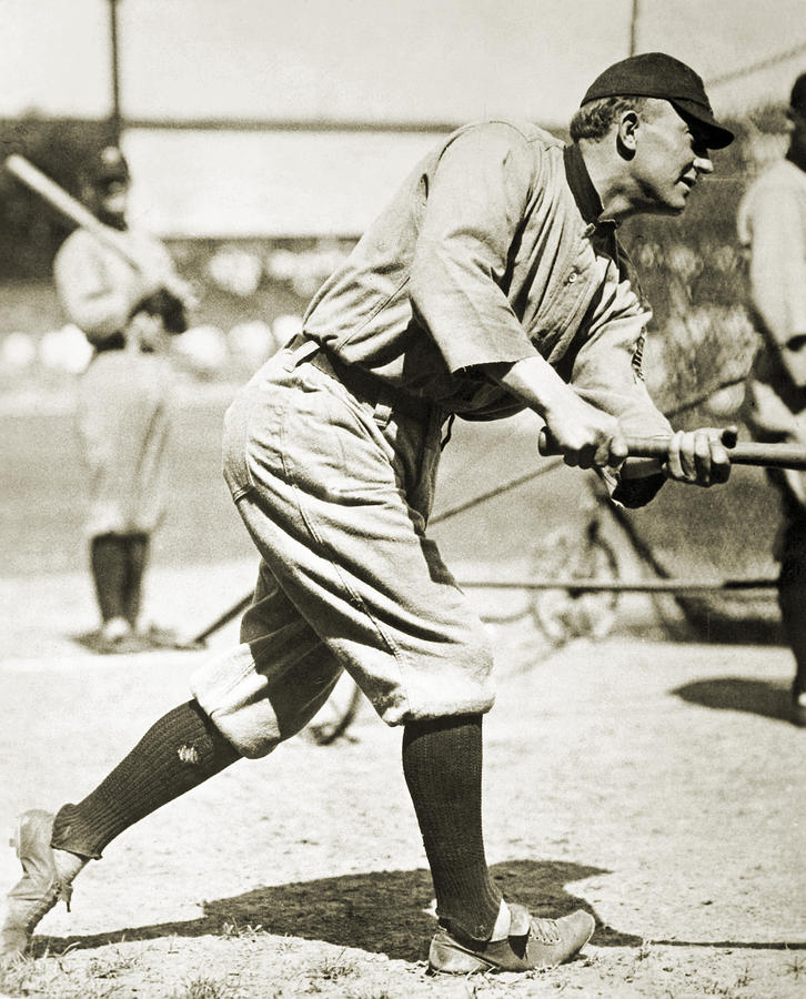 20th Century Photograph - Ty Cobb (1886-1961) by Granger