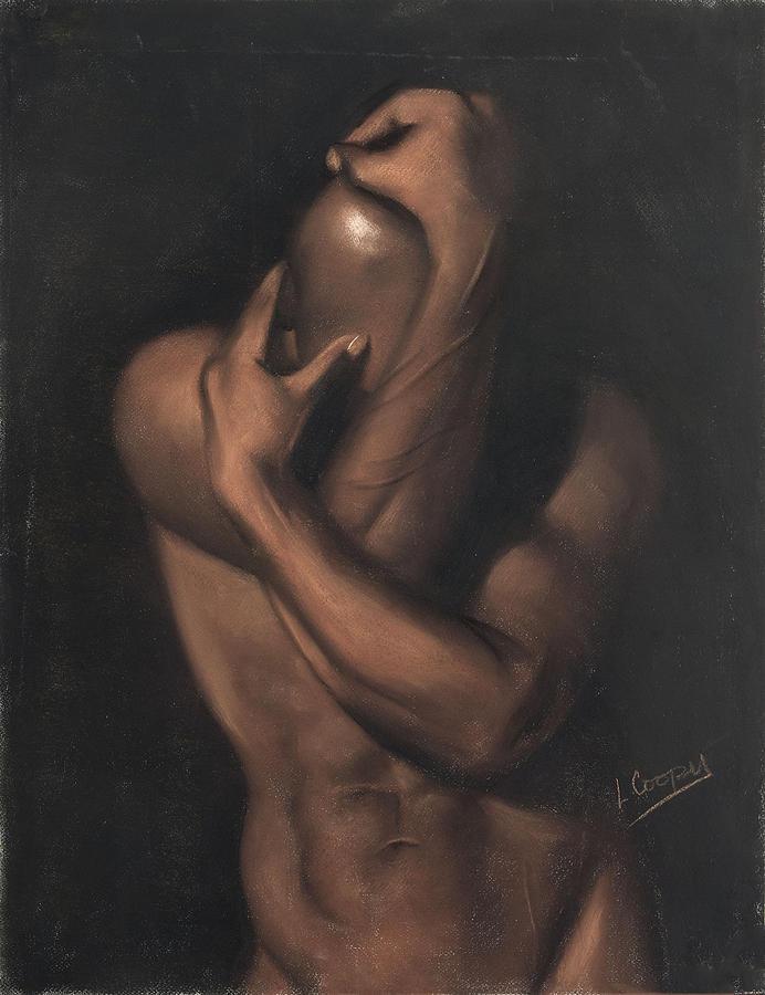 L Cooper Pastel - Untitled by L Cooper