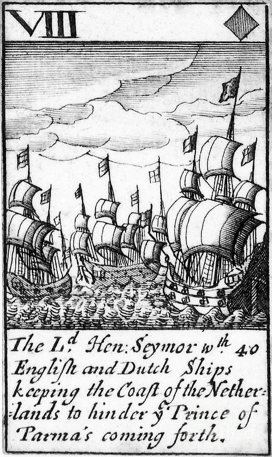 1588 Photograph - Spanish Armada, 1588 by Granger