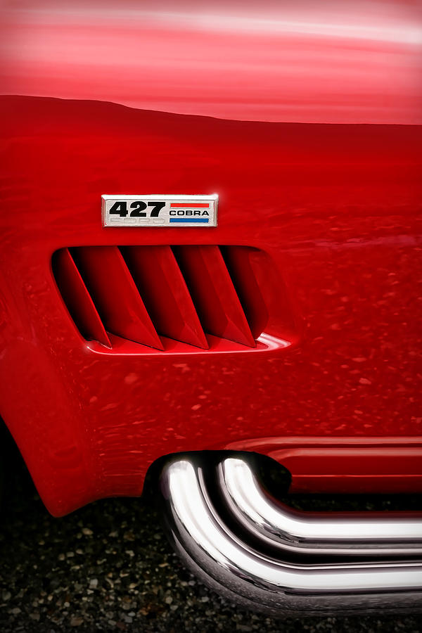 Ac Photograph - 427 Ford Cobra by Gordon Dean II