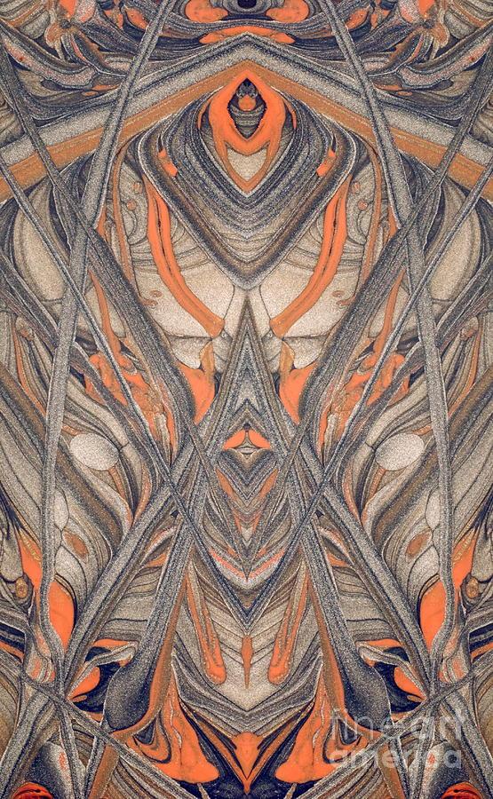 Nature Digital Art -  Paint Reflection by Odon Czintos