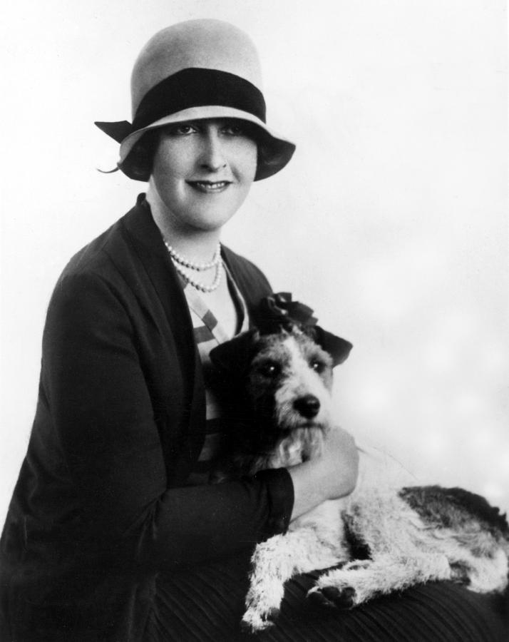Agatha Christie 1890 1976 British Photograph By Everett