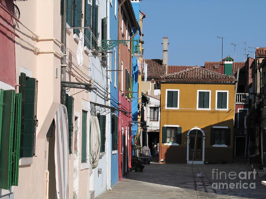 Italie Photograph - Burano Island. Venice by Bernard Jaubert