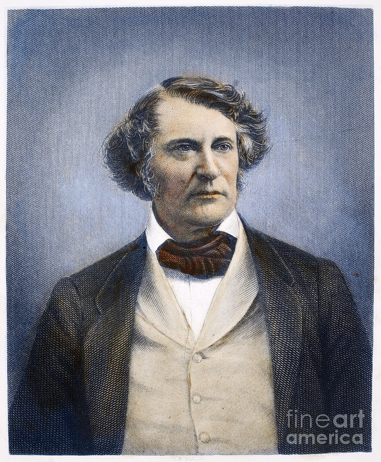 19th Century Photograph - Charles Sumner (1811-1874) by Granger