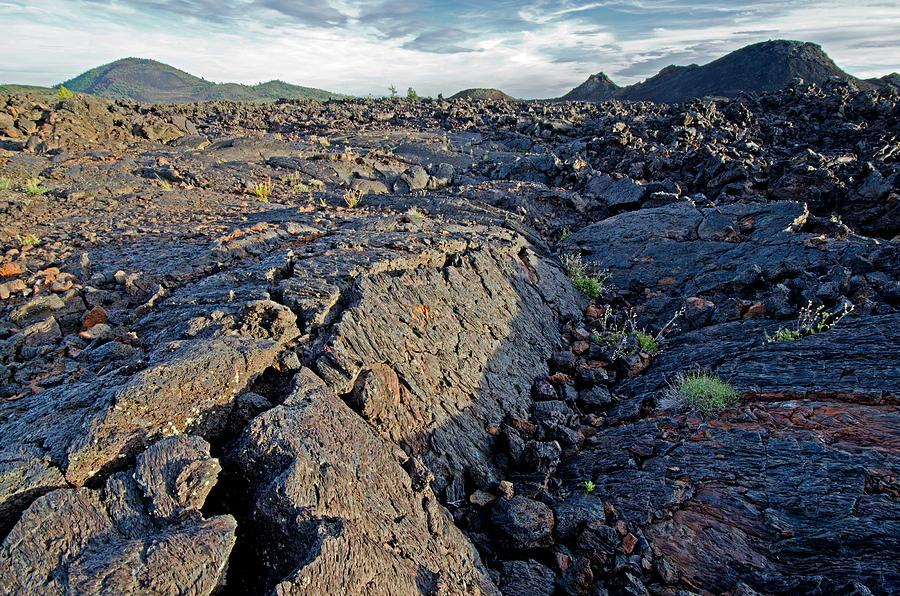 Broken Top Photograph - Craters Of The Moon by Elijah Weber