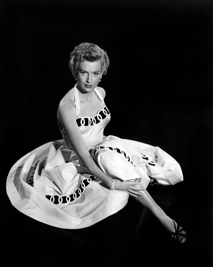 1953 Movies Photograph - From Here To Eternity, Deborah Kerr by Everett