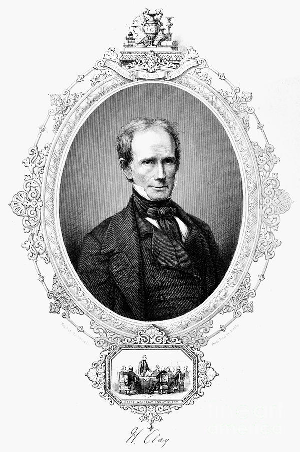19th Century Photograph - Henry Clay (1777-1852) by Granger