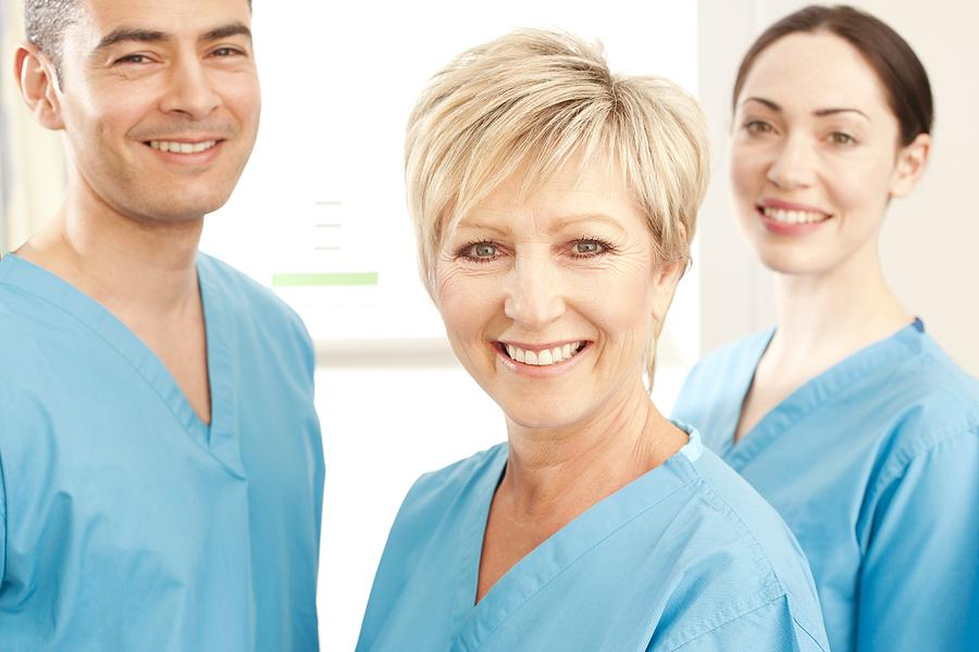 Studio Shot Photograph - Hospital Staff by
