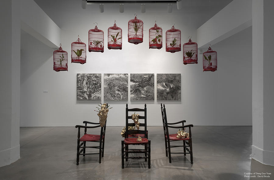 Syracuse Sculpture - Installation View by Deng Guo Yuan