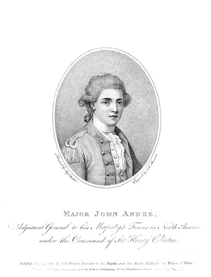 18th Century Photograph - John Andre (1751-1780) by Granger