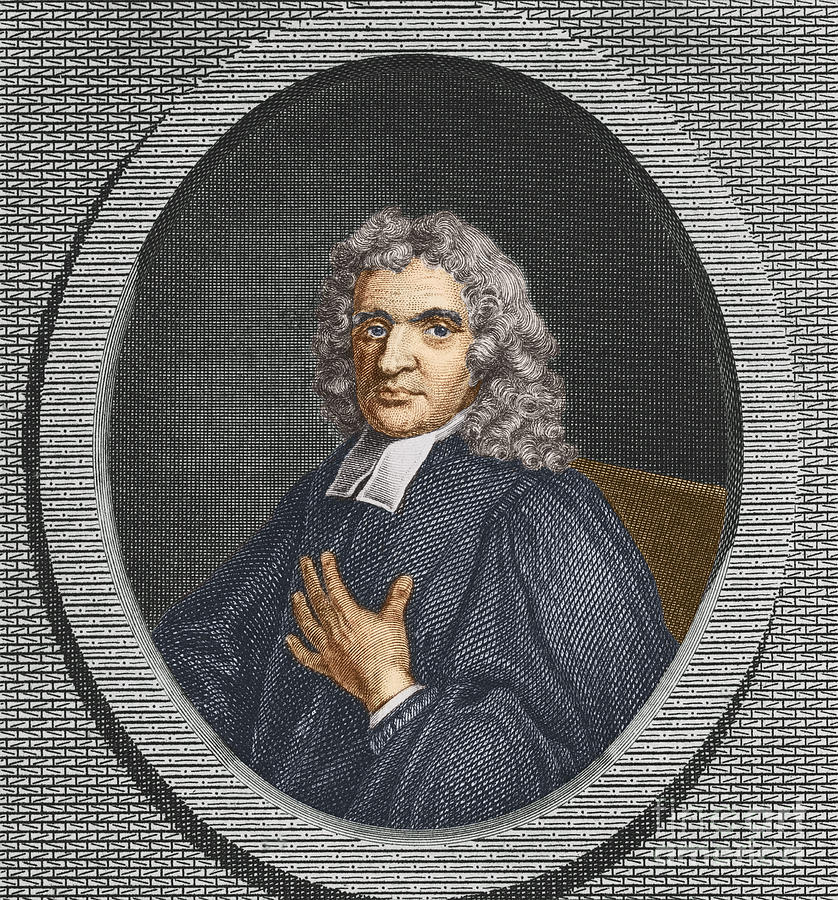 Science Photograph - John Flamsteed, English Astronomer by Science Source