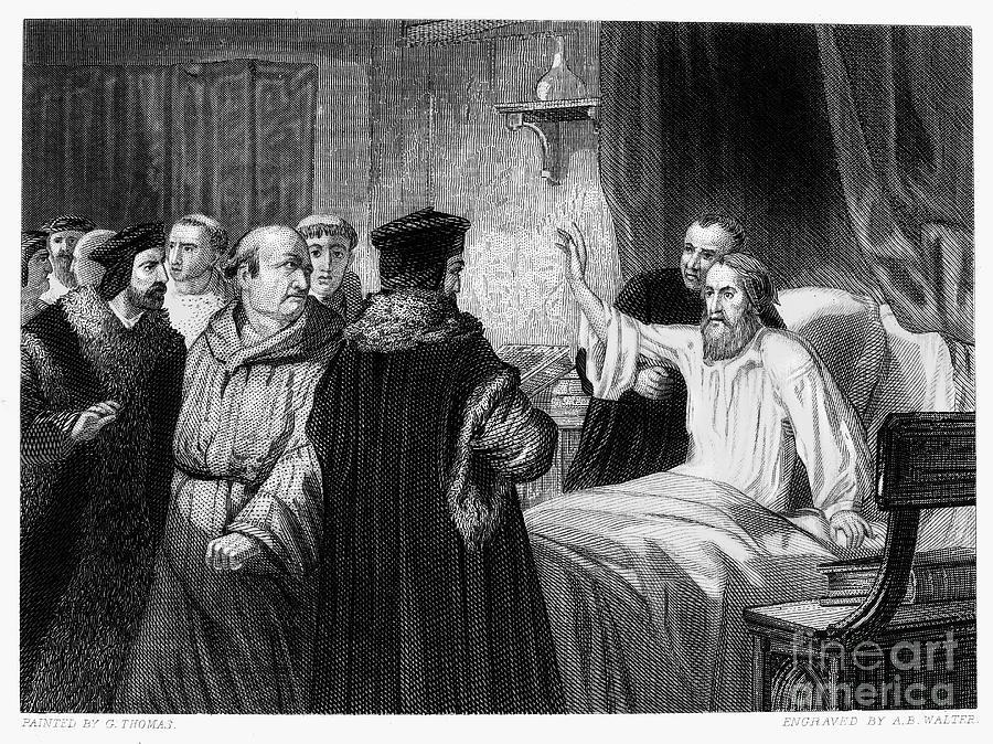 1378 Photograph - John Wycliffe (1320?-1384) by Granger