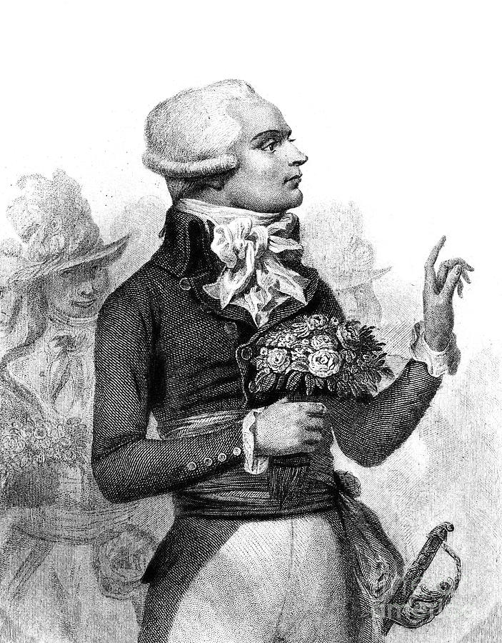 Maximilien Robespierre Photograph By Granger